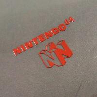 Nintendo 64 RED Label / Aufkleber / Sticker / Badge / Logo 37 x 22mm [253b]