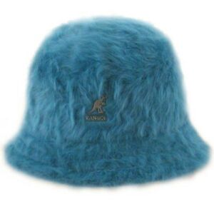 Kangol KIDS Peacock Teal Furgora Casual Bucket Hat NEW NWT Sold Out