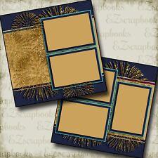 Light Parade - Disney - Premade Scrapbook Pages - EZ Layout 2905