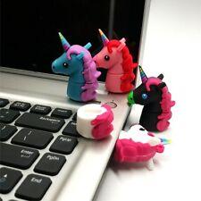 Unicorn USB 2.0 Memory Stick Flash Drive Pen Drive 4GB USB PLUS FREE UNICORN PEN