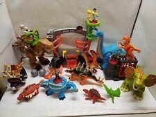 Fisher-Price Imaginext Dinosaur Lot T-Rex Pterodactyl Apatosaurus Surge Raptor