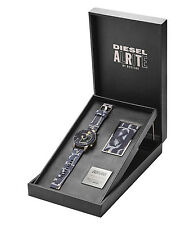 DIESEL LIMITED EDITION & NUMBERED ALRITE BY ROSTARR WATCH SET DZ7388, NIB,$1000