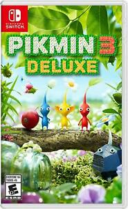 Nintendo Pikmin 3 Deluxe for Nintendo Switch BRAND NEW! SEALED!