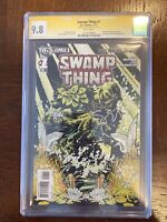 Swamp Thing #1 First Print CGC 9.8 New 52 Scott Snyder Signed!