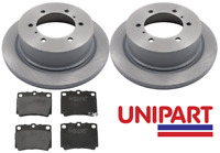 For Mitsubishi - Shogun Sport 2.5 TD 3.0 V6 2001-2008 Rear Brake Discs and Pads