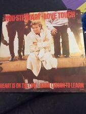 """Rod Stewart(12"""" Vinyl P/S)Love Touch-Warner-W8668T-UK-1986-VG/Ex"""