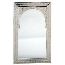 orientalischer Spiegel Silber Orientspiegel Marokko Orient Mansub 50x80cm