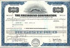 RARE GREYHOUND STOCK FORMAT BONDS! BLUE $1k GRN $5k OLIVE $10k PURP $25k CV $250