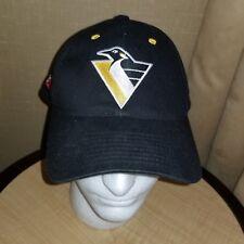 Pittsburgh Penguins Logo baseball hat cap Snapback 91 92 Champions Stanley Cup