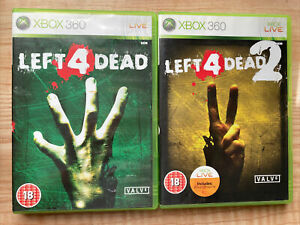 Left 4 Dead 1 & 2 Bundle (Xbox 360) CIB - Tested - PEGI 18 - Survival Horror