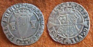 Ireland, Henry VIII 1st harp coinage Groat with Jane Seymour