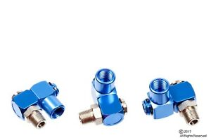 3 INDUSTRIAL ALUMINUM AIR 360 SWIVEL FITTING CONNECTORS HOSE TOOL COUPLER