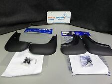 Genuine Volvo S40 V50 Front and Rear Mud Guard Set for unpainted sills OE OEM