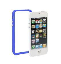 Bumber azul para Apple iPhone 5 azul case cover TPU protección marco Wow