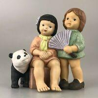 Goebel Nina & Marco Haiphong Vietnam Panda Figur Porzellanfigur Porzellan