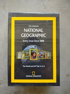 The Complete National Geographic Every Issue Since 1888 DVD-ROM - NEW & SEALED