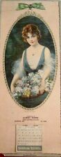 """1922 Advertising Calendar by J. Knowles Hare for """"Sunshine Biscuits"""" *"""