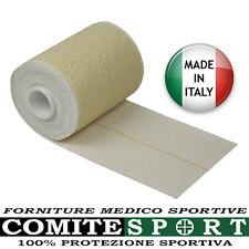BENDA ADESIVA ELASTICA Cm 6 / 8 / 10 x 4,5 Mt Tipo TENSOPLAST / MADE IN ITALY