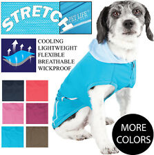 Pet Life 'Pull-Rover' Quick-Dry and 4-Way Stretch Dog Tank Top T-Shirt Hoodie