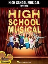 """""""HIGH SCHOOL MUSICAL FOR CELLO"""" MUSIC BOOK-BRAND NEW ON SALE SONGBOOK-FROM MOVIE"""