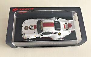 SPARK S3399 Porsche 911 Carrera RSR Viceroy # 46 24h di Le Mans 1974 1/43