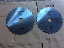 Lot de 2 disques de scie circulaire machine à bois (3)