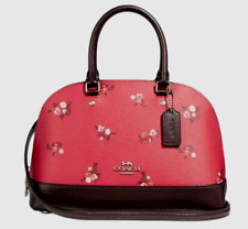 7c4b4a735292 ... Purse Posey Cluster Floral Print.  85.00. Almost gone · New Coach 31355  mini Sierra Satchel Leather BBY Bouquet Bright Red multi