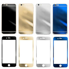 Mirror Front + Back Anti Scratch Tempered Glass Screen Protector For iPhone 5/5S