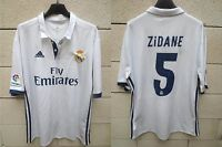 Maillot REAL MADRID 2017 ZIDANE n°5 camiseta ADIDAS football maglia shirt XL