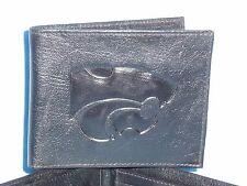 KANSAS STATE WILDCATS  Leather BiFold Wallet  NEW black