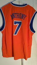 Adidas NBA Jersey New York Knicks Carmelo Anthony Orange sz 2X