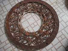 Cast Iron Floor Grate - Decorative