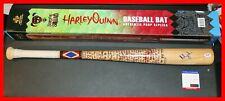 🔥 Rare Margot Robbie Signed Harley Quinn Noble Collection Baseball Bat PSA 🔥