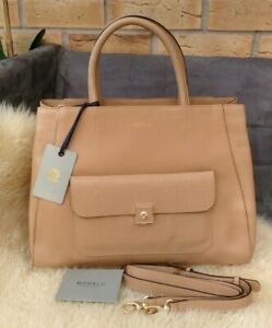 Modalu Verity Large Leather Tote Bag Tan # RRP£269