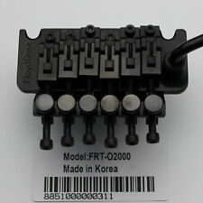 Floyd Rose 1000 Series Original Tremolo System Bridge FRT02000 Black From Korea