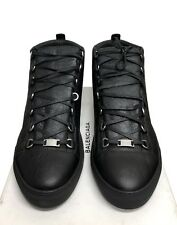 Balenciaga Black Arena Hi-Top New in Box Sneakers Size 14 47