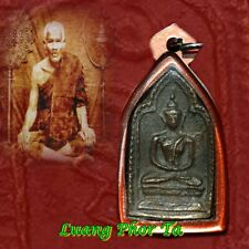 Real Antique magic amulet powerful magic lucky talisman charm coin Luang Phor Ta
