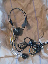 2 pieces US Military Electrical Headset Chest Set Operators microphone R-52 SW