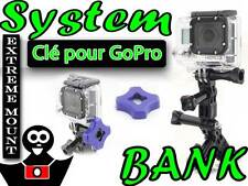 Clé Porte-clés et Anneaux pour les vis les système des caméras GoPro HERO 3 2 1