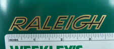 "Raleigh bicycle  3.5"" chain guard decal"