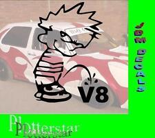 Piss of V8 Motor Hater JDM Aufkleber Sticker OEM Shocker Like Geil