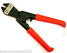 "8"" Bolt Cutter Mini Compact Light Duty Cut Lock Barb Wire Chain Link Fence Tool"