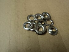 """Grommets & Washers. #2(3/8"""" hole)- Silver 1-Gross Per Box"""