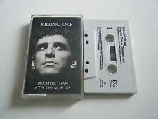 KILLING JOKE BRIGHTER THAN A THOUSAND SUNS CASSETTE TAPE EG (1986)