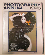 PHOTOGRAPHY ANNUAL 1976 International edition New York Ziff Davis