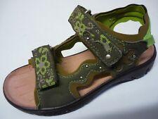 RICOSTA Mädchen Sandalen 25 Mittel Schuhe Khaki NEU