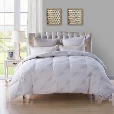 90% White Goose Down Comforter Duvet Insert Full /Queen 800Fill Power Word Print