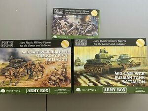 Plastic Soldier Company 15mm WW2 Kits