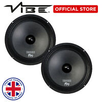 "EDGE Pro 8"" 360W Peak Car Audio 180W RMS Midrange Drivers Woofer Speakers - Pair"