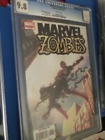 Marvel Zombies 1A 1st Printing CGC 9.8 Amazing Fantasy 15 Tribute Spider-Man